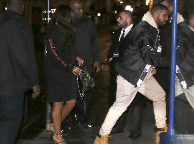 Rihanna and Drake together