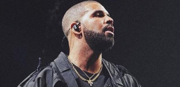 Drake on stage
