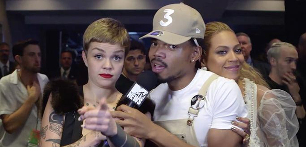 Chance The Rapper and Beyonce