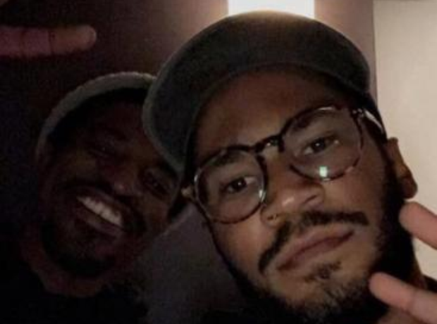 Andre 3000 and Kaytranada in studio