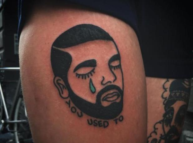 Drake Tattoo