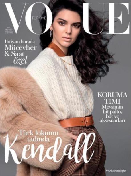 Kendall Jenner Vogue Turkey