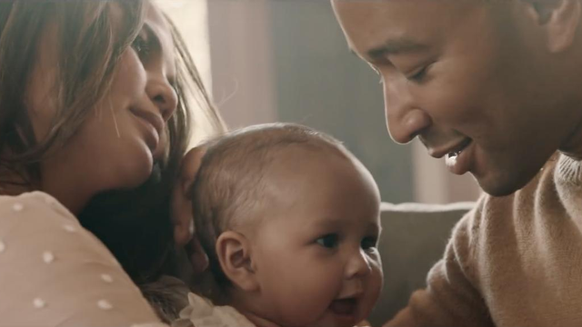 WATCH: John Legend's Emotional New 'Love Me Now' Music Video Starring Chrissy Teigen & Baby Luna  Video - CAPITAL Xtra