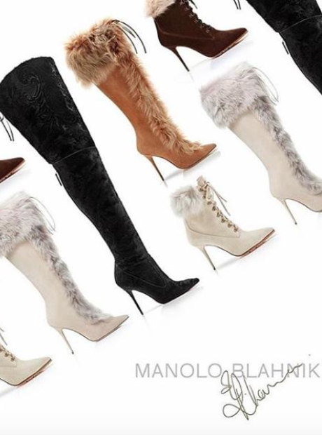 Rihanna New Manolo Blahnic collection