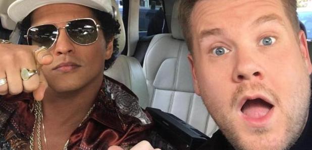 Bruno Mars James Corden Carpool