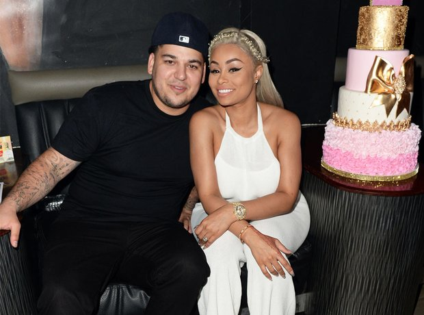 Black Chyna and Rob Kardashian