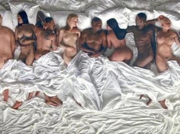Kanye Famous video