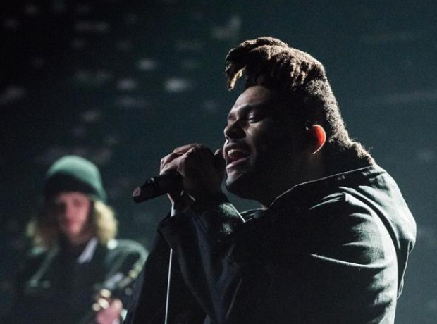 The Weeknd BRITs performance 2016
