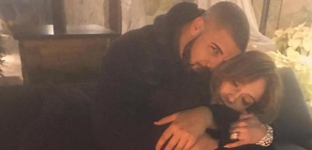Drake and Jennifer Lopez instagram