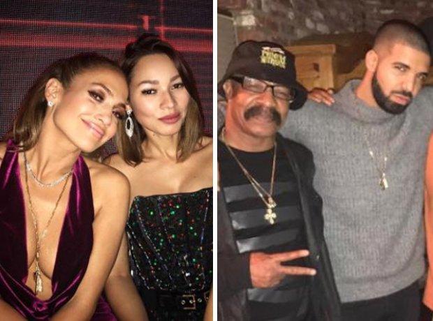 Jennifer Lopez Drake Chain