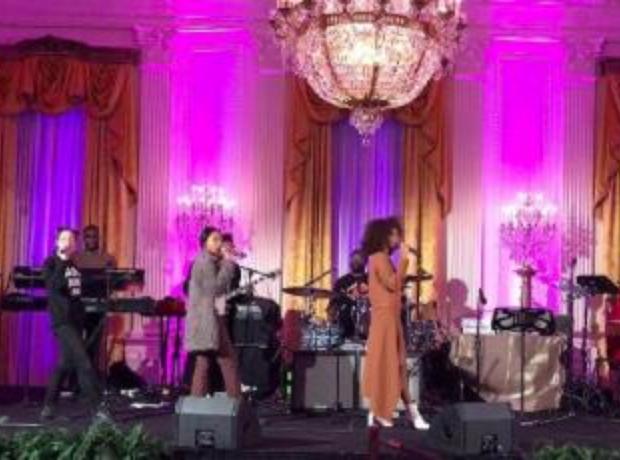 Solange Obama White House Performance