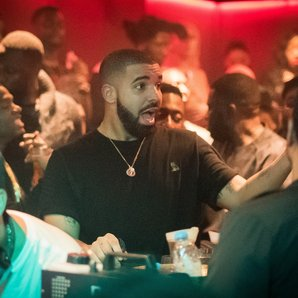 Drake in London nightclub
