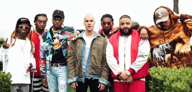 DJ Khaled, Justin Bieber, Chance The Rapper, Migos