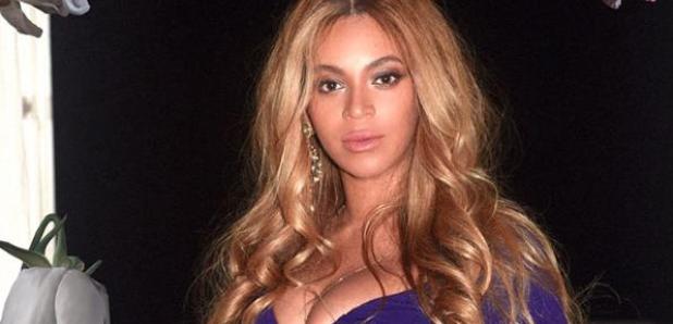 Beyonce Blue Dress