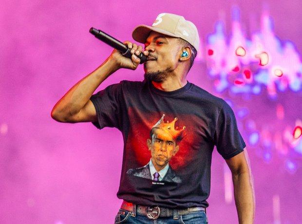 Chance The Rapper Wireless Festival 2017
